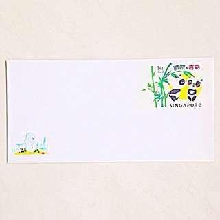 🇸🇬Singapore Panda-Postage Prepaid Envelopes (Pack of 10)🇸🇬