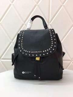 Michael Kors Riley Studded Backpack - Black