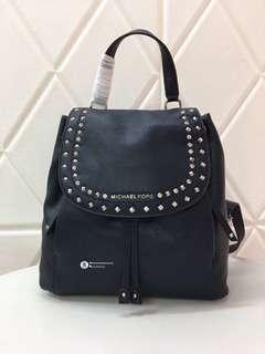 Michael Kors Riley Studded Backpack - blue