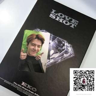 EXO Love Shot Sehun Photocard
