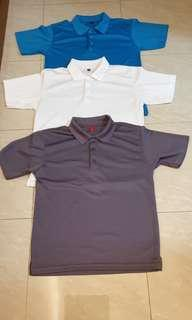 Men Polo Dry Fit Tee Size S
