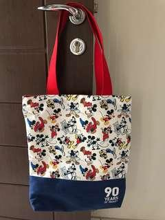 MICKEY MOUSE TOTE BAG 90 YEARS