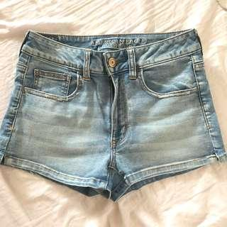 American Eagles Outfitters Light Denim Shorts