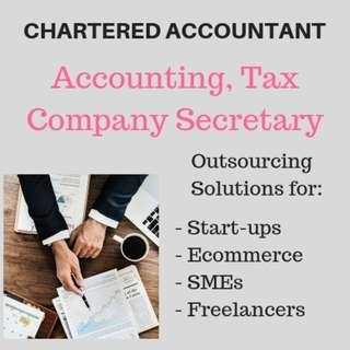 ACCOUNTING SERVICES, CORPORATE SECRETARY