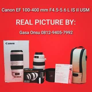 Rare Product Canon EF 100-400 mm F4.5-5.6 L IS II USM #bersihbersih