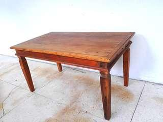 5ft Solid teak Dinning table.