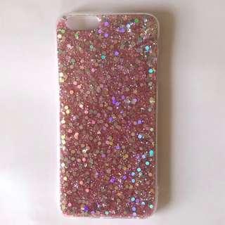iPhone 7 Pink Glitter iPhone Case