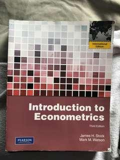 Introduction to econometrics 3rd edition James H. Stock Mark M. Watson