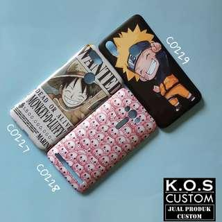 Custom Case 3D One Piece dan Naruto