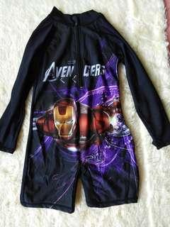 Avengers rashguard for boys