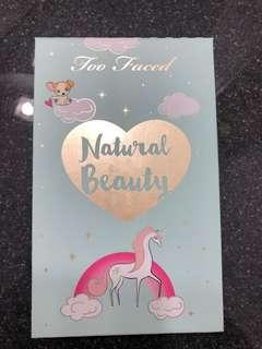 Too Faced Natural Beauty Pallette
