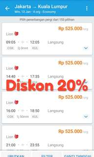 Pesawat Events Tickets Carousell Indonesia