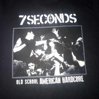 NEW 7 Seconds shirt
