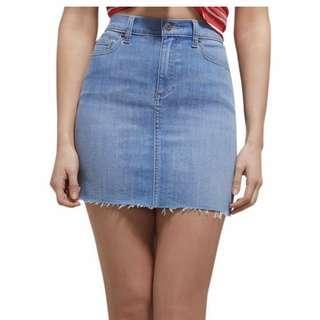 Bardot Blue Denim Skirt