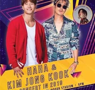 HAHA & KIM JONG KOOK CONCERT IN MALAYSIA
