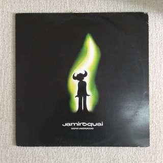 "12"":  Jamiroquai – Deeper Underground Single Vinyl Record"