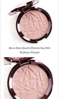 Limited Edition Becca Rose Quartz Skin Perfecter Highlighter