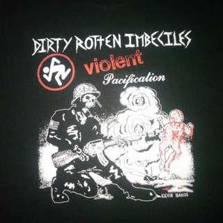 NEW  Dirty Rotten Imbeciles Shirt