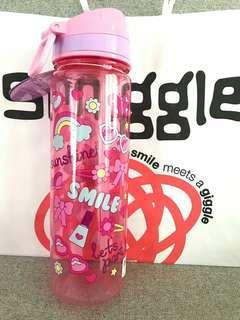Smiggle PINK SMILE Drink Bottle Large 650ml