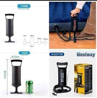 Manual air pump best way