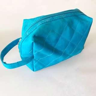 Blue Toiletries/Make-Up Pouch