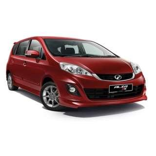 Alza for Rent (Kereta Sewa Alza)