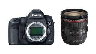 Canon 5D Mark 3 with 24-70mm F4L IS Package