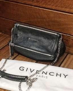 100% Authentic GIVENCHY PANDORA MINI (Black)