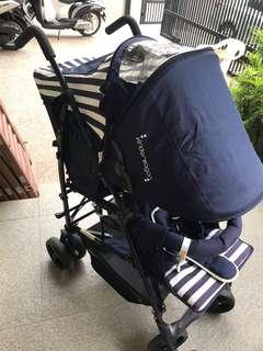 Kinderwagon Hop Double Stroller