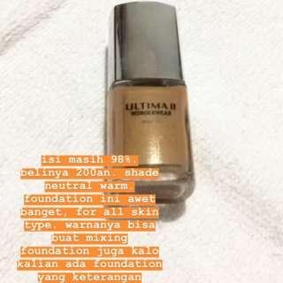 Ultima II Wonderwear Foundation