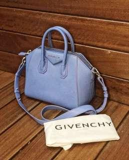 100% Authentic GIVENCHY ANTIGONA (Blue)