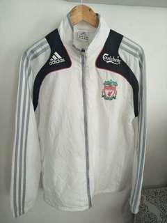 Rare liverpool fc adidas training jacket windbreaker