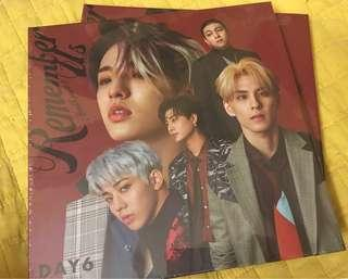 DAY6 - REMEMBER US (UNSEALED - ALBUM ONLY)