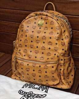100% Authentic MCM BACKPACK (Cognac)
