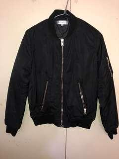 Showpo Black Bomber Jacket