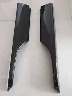 🚚 Carbon Fibre Feel's Design Side Skirt Air Ducts for Honda Civic FD
