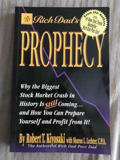 Robert T Kiyosaki with Sharon L Lechter : Rich Dad's Prophecy
