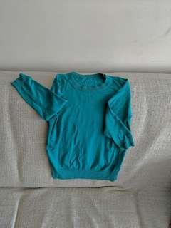 Massimo Dutit blue shirt