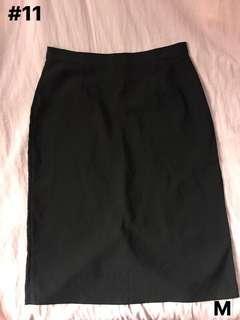 Black Executive Skirt