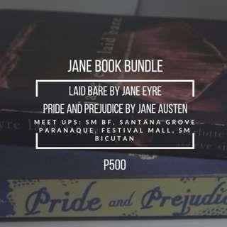 JANE BOOK BUNDLE