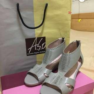 阿瘦楔型鞋