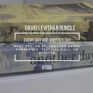 David Levithan Bundle (Every day and Another Day)