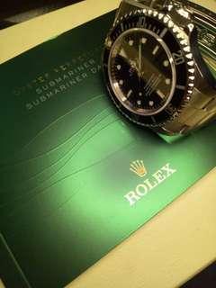 Rolex Submariner (Scrambled Series)