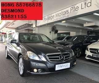 Mercedes-Benz E200 CGI Auto