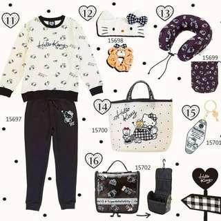 2019 Hello Kitty Travel主題商品
