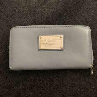 Marc By Marc Jacobs Ice Blue Long Purse