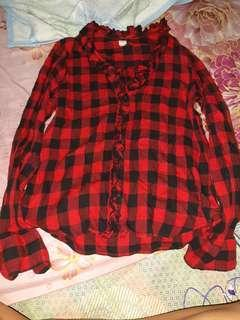 Flannel Polo