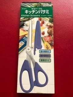 🚚 日本suncraft 廚房剪刀 全長21.5公分