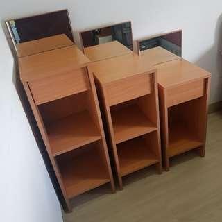 Flash Sale! Jual Cepat! Satu set meja/shelving kecil (3pcs)