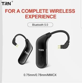 《INSTOCK》TRN BT20 5.0 Bluetooth Earphone Cable Ear Hook Headphones Bluetooth Headset for KZ/TRN/SHURE/WESTONE and many more IEMs